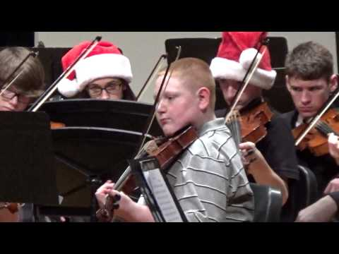 Franklin Township High School Concert Orchestra Dec. 4, 2014
