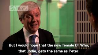 Will the new female Doctor Who get paid the same as the old male Doctor Who? BBC Chief Lord Hall makes no promises, but is ...
