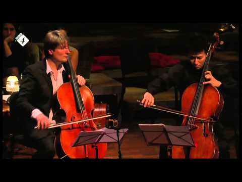 Amsterdamse Cello Biënnale 2012 - Requiem for 3 cellos and piano during Cello Coupé