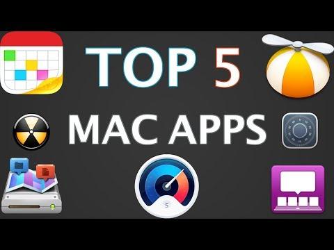 Top 5 Mac Apps // 2017