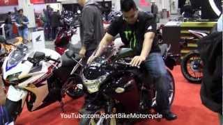 9. 2013 Honda CBR250R Black Walk Around Beginner SportBike Motorcycle