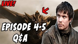 Lets discuss Episode 4 and make some predictions for Episode 5!!! Episode 4 BREAKDOWN! https://youtu.be/T_Ir953unLA...