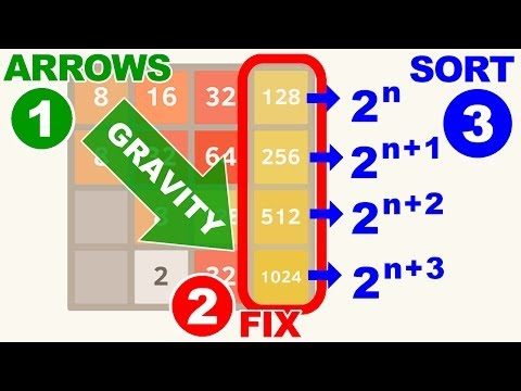 Video of 2048 Simple Puzzle