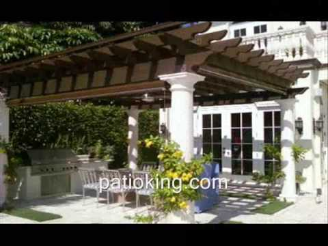 Barbecue grills, tiki huts, pergolas in Miami Florida