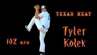 Tyler Kolek - #2 Overall 2014 MLB Draft by Miami Marlins, Texas High School Baseball