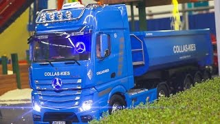 Video MEGA RC MODEL TRUCK & CONSTRUCTION SITE ACTION VOL.5*RC SCANIA*RC MAN*RC MB ACTROS MP3, 3GP, MP4, WEBM, AVI, FLV April 2017