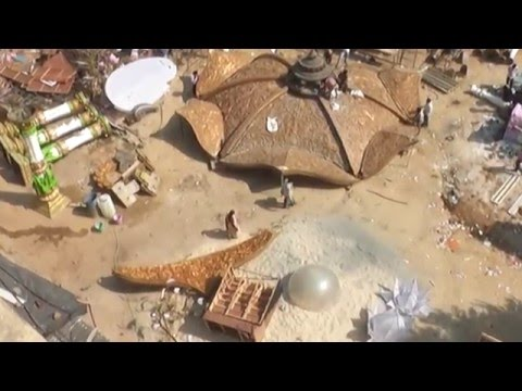 Videos Movies Exclusive Bahubali Sets Making