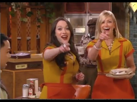 2 broke girls s5 bloopers