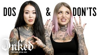 Nonton Tattoo Dos And Don Ts With Alisha Gory And Sabrina Nolan   Inked Film Subtitle Indonesia Streaming Movie Download