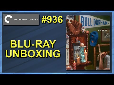 Bull Durham Criterion Collection #936 Blu-ray Unboxing