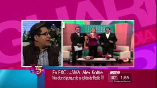 A la Vanguardia - Salida de Alex Kaffie de Pasillo TV