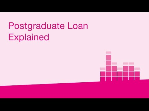Postgraduate Loan Explained