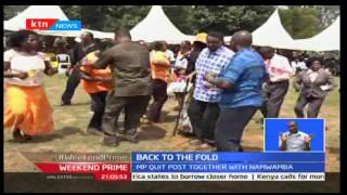 KTN Prime: CORD Leader Welcomes Funyula MP Paul Otuoma Back Into The ODM Stable, September 24th 2016
