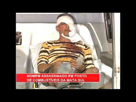 [RONDA GERAL] Mototaxista é morto a tiros em posto de combustível de Escada