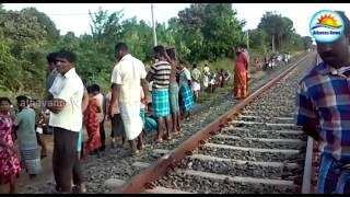 Train crash kills one person in Killinochchi