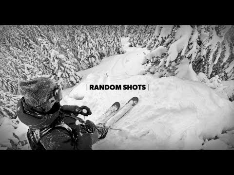 Another usual skiing day for Candide Thovex and his friend Aziz Benkrich having fun in the