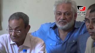 من اعتصام «الثقافة» بهاء طاهر: أخشى على وثائق مصر