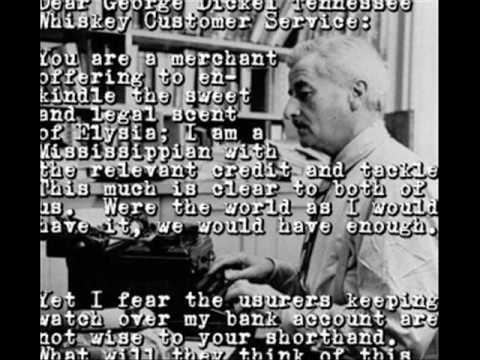 William Faulkner - a short bio .wmv