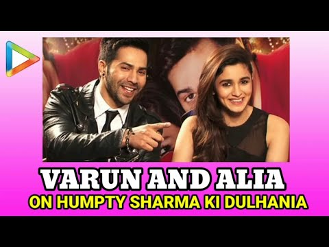 Varun Dhawan And Alia Bhatt Fun Exclusive On Humpt