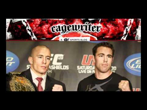 UFC 129 Press Conference   GSP and Shields already sick of the media