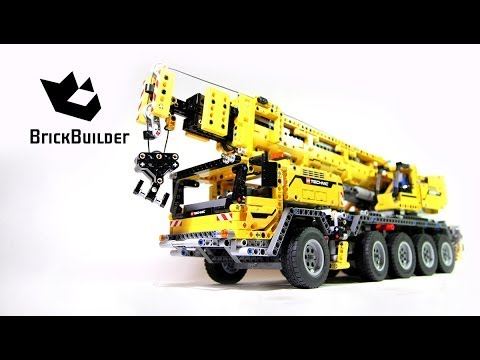 Lego Technic 42009 Mobile Crane MK II - Lego Speed build (видео)