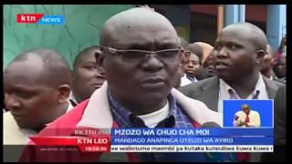 KTN Leo: Wakaazi Wa Uasin Gishu Wamemtaka Joseph Nkaiserry Kukoma Kuwatishia Viongozi Wao, 26/9/2016
