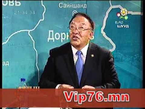 """Д.Ганхуяг гишүүн TV9-""""Ардын парламент"""" нэвтрүүлэгт оролцов"""
