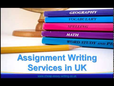Assignment Writing Services in UK - Get Best Assignment Writing Help