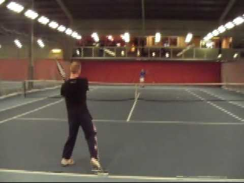 Watch video Down Syndrome playing tennis