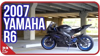 4. YummiR6's 2007 Yamaha R6 | First Ride