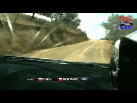 Mexico: Robert Kubica - ONBOARD crash SS13
