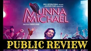 Munna Michael PUBLIC Review  Tiger Shroff  Nidhi AgarwalSUBSCRIBE,Like & Share to BollywoodMirchii for latest updates on Bollywood News,Gossips & More....BollywoodMirchii: https://www.youtube.com/user/BollywoodMirchii