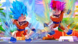ROBLOX: Dragon Ball Super  - SAIYAJIN BLUE VS ROSÉ ! ‹ Ine › Video