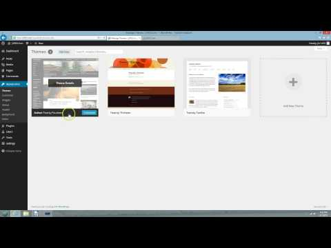 Customize Twenty Fourteen WordPress Theme