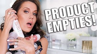 PRODUCT EMPTIES   BEAUTY IM OBSESSED WITH! by Glam Life Guru