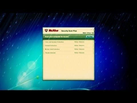 how to turn mcafee off windows 8