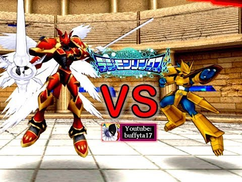 Digimon Linkz - Colosseum PVP Battle [VS Crimson Mode, Magnamon] (видео)