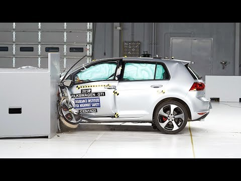 Volkswagen Golf GTI 2016 obtiene el Top Safety Pick+ del IIHS