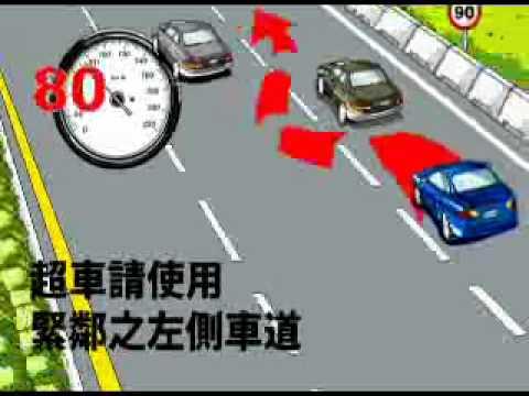 慢速小型車高速公路注意事項 小型車篇 國語