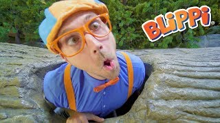 Video Blippi Learns at the Children's Museum | Learn to Count for Toddlers and more! MP3, 3GP, MP4, WEBM, AVI, FLV Januari 2019