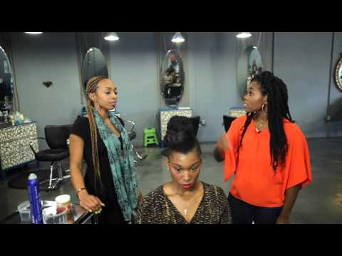 curlbox tv (how-to): avant garde updo & casual crown