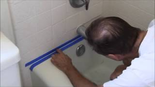 Video How to Replace Moldy Caulk in a  Bathtub or Shower MP3, 3GP, MP4, WEBM, AVI, FLV September 2019