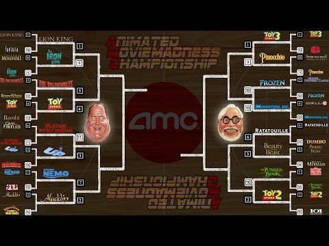 Animated Movie Madness Round 1 Results – AMC Movie News