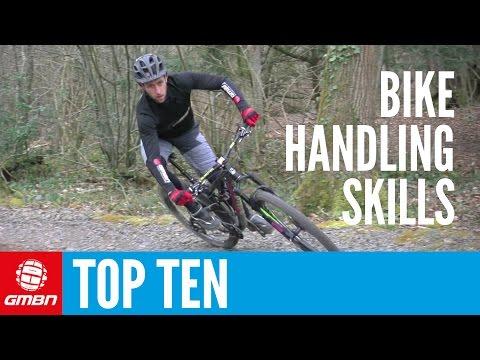 Top 10 Essential MTB Skills – Ten Mountain Bike Handling Tips (видео)