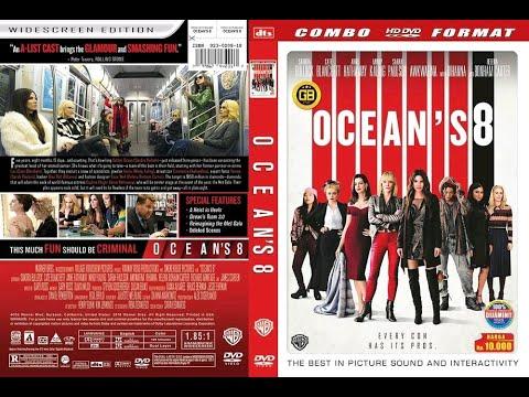 Opening to Ocean's 8 2018 DVD