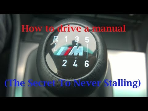 how to drive a vehicle manual