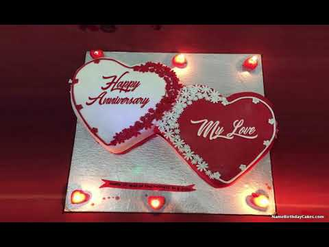 Video Romantic Happy Anniversary My Love Wishes download in MP3, 3GP, MP4, WEBM, AVI, FLV January 2017