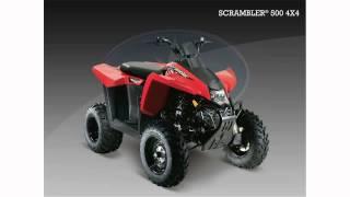 4. polaris scrambler 500 4x4