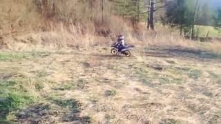 9. Yamaha pw 50 first ride