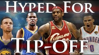 Hyped For Tip-Off (2016-2017) by Joseph Vincent